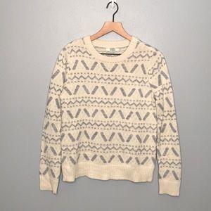 BB Dakota printed crewneck sweater size Medium